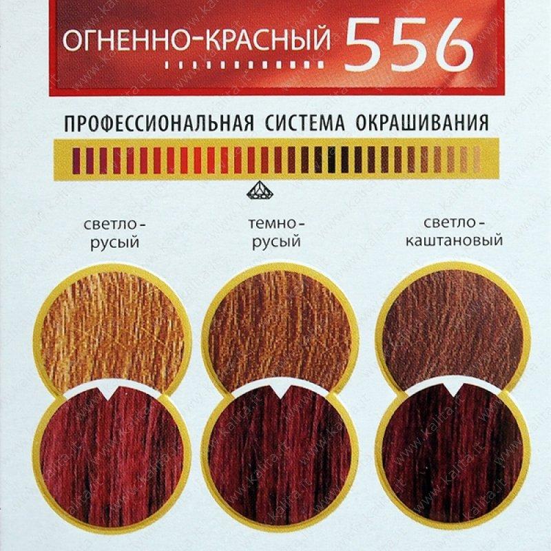 Vopsea De Păr 556 Roşu Aprins Prestige Deluxe Cosmetică