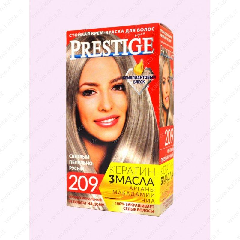 Vopsea De Păr 209 Blond Cenusiu Deschis Prestige Cosmetică