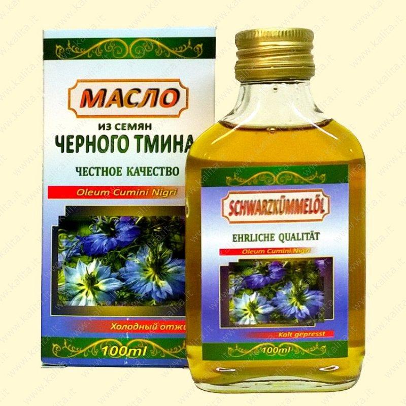 Черное масло семян тмина